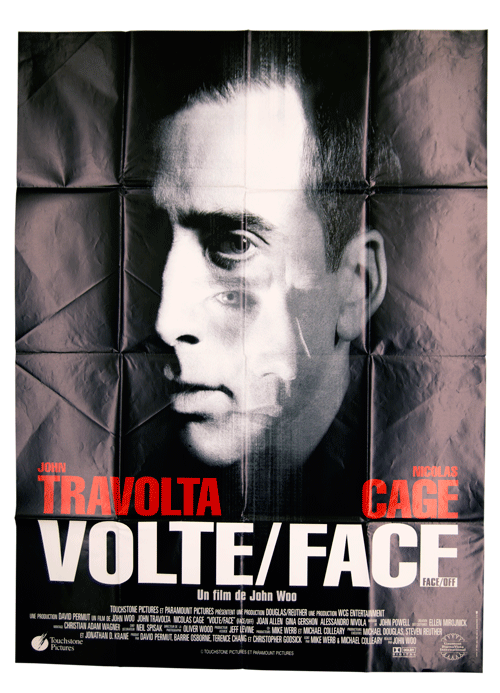 John Travolta John Cage original poster Face/Off
