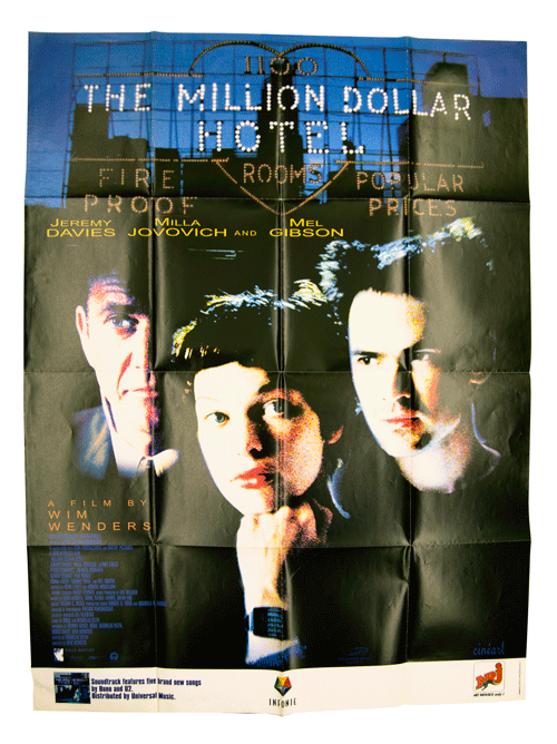 Original film poster the million dollar hotel filmposter