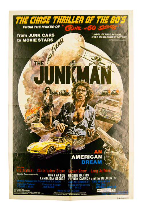 Filmposter The Junkman