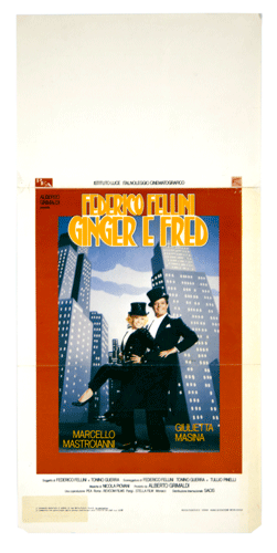 Fellini Ginger e Fred original poster