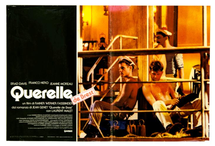 Querelle original poster Jean Genet