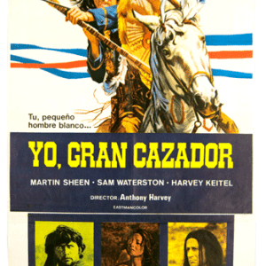 Yo, gran cazador vintage poster Martin Sheen Harvey Keitel