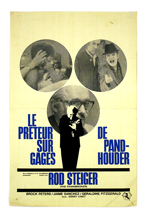 Belgian film poster The Pawnbroker (1964)
