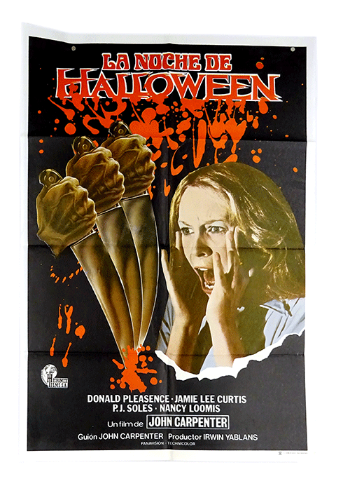 Original horror poster Halloween John Carpenter