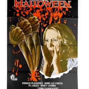 Original horror poster Halloween John Carpenter