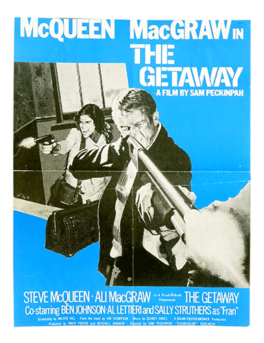 The Getaway original poster