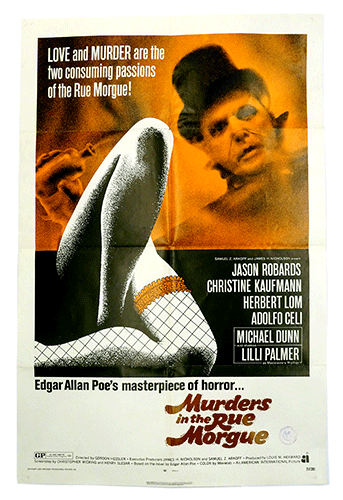 Murders in the Rue Morgue poster