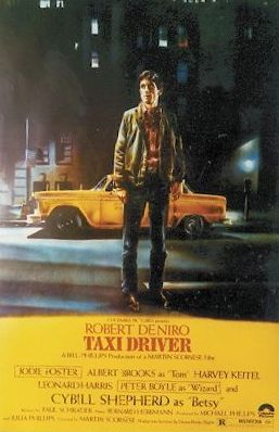 Taxi Driver poster
