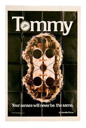 Tommy original poster