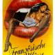 Poster Französiche Küsse
