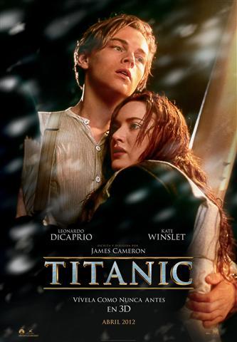 Póster de Titanic 3D