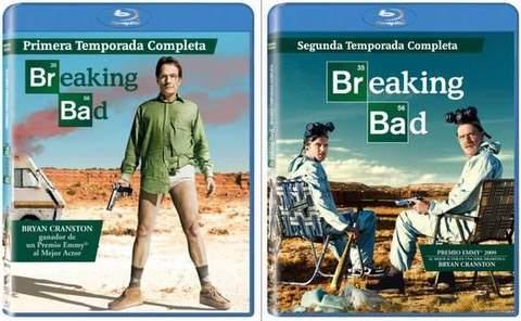 Breaking Bad en Blu-Ray.