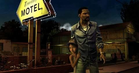The walking dead videojuego.