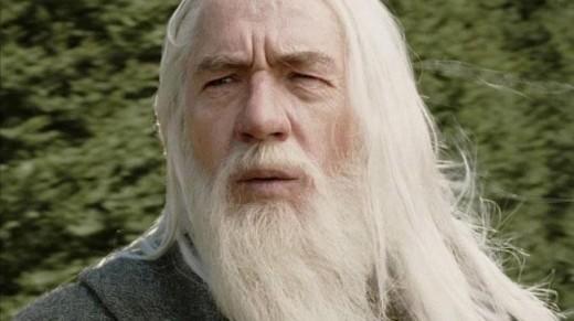 Gandalf, Ian McKellen.