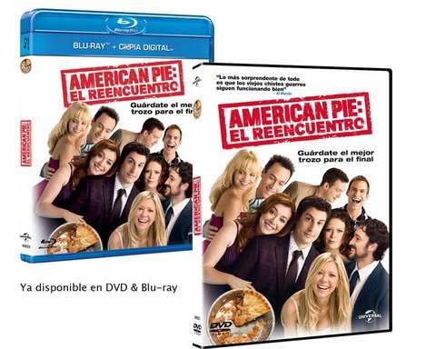 American Pie: El reencuentro ya en DVD.