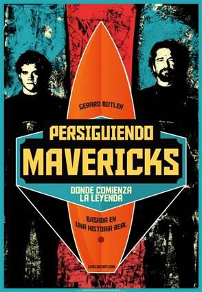 Póster de Persiguiendo Mavericks.