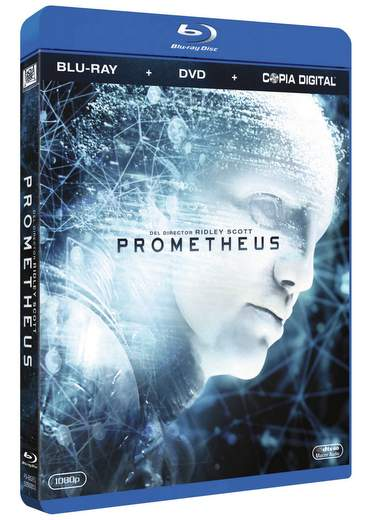 Prometheus ya en Blu-ray