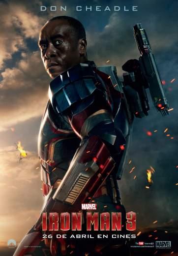 Póster de Iron Man 3