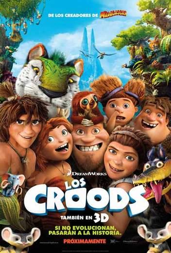 Cartel de Los Croods