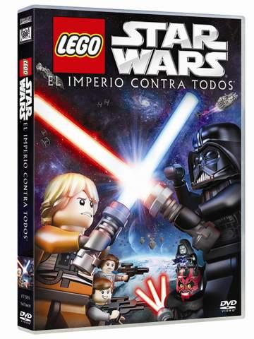 """Carátula """"LEGO STAR WARS: EL IMPERIO CONTRA TODOS"""""""