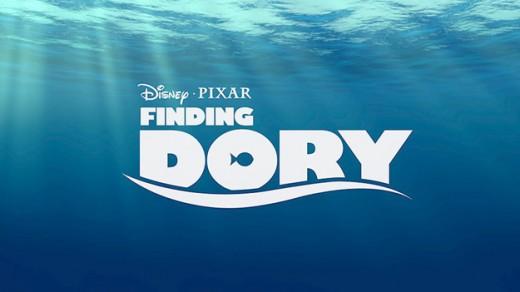 """Buscando a Dory"", logo"