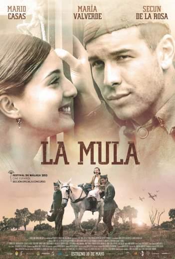 """Póster de """"La Mula""""."""