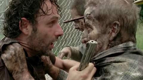 "Película de ""The Walking Dead""."