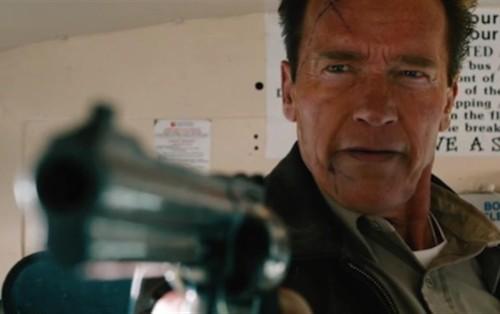 "Arnold Schwarzenegger en ""Maggie""."