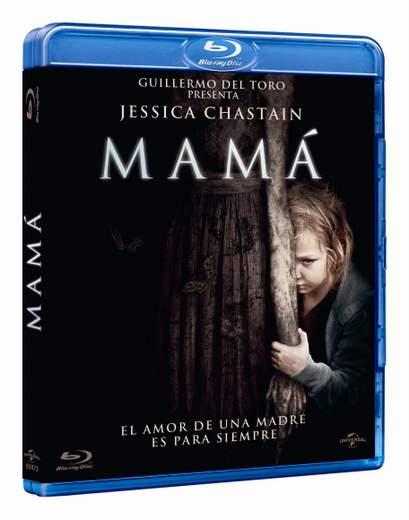 """Mamá"" carátula Blu-ray."