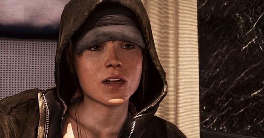 """Ellen Page en """"Beyond, dos almas"""""""