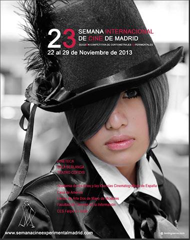 Cartel de la Semana Internacional de Cine de Madrid