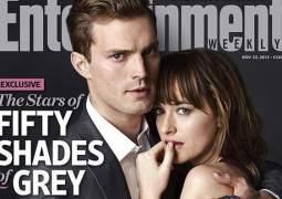 Las estrellas de 50 Sombras de Grey posan como Christian y Anastasia
