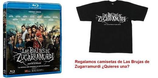 Regalamos Camisetas de Las Brujas de Zugarramurdi
