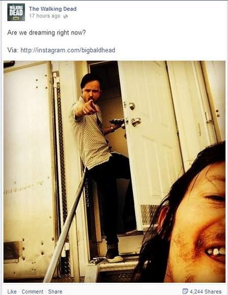 Estará Aaron Paul en la quinta temporada de The Walking dead
