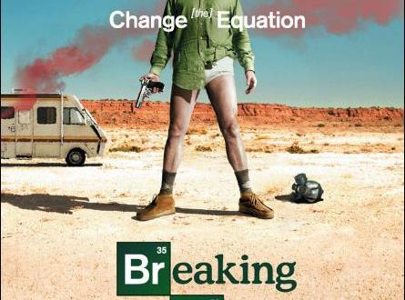 Póster serie Breaking Bad
