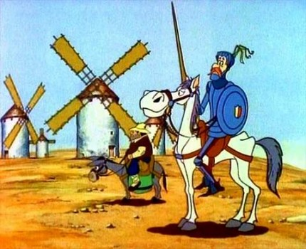 Serie Don quijote de la mancha