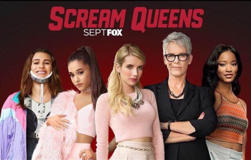 Banner Scream Queens