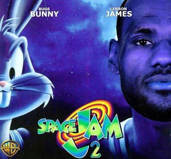 LeBron James en Space Jam 2