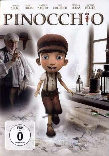 Póster de Pinocho y su amiga Coco