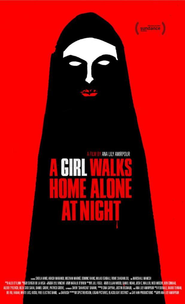 Póster de Una chica vuelve a casa sola de noche