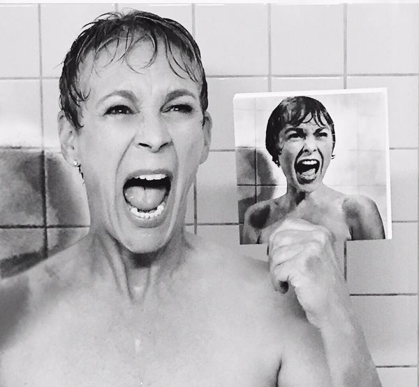 Scream Queens escena de la ducha de Psicosis