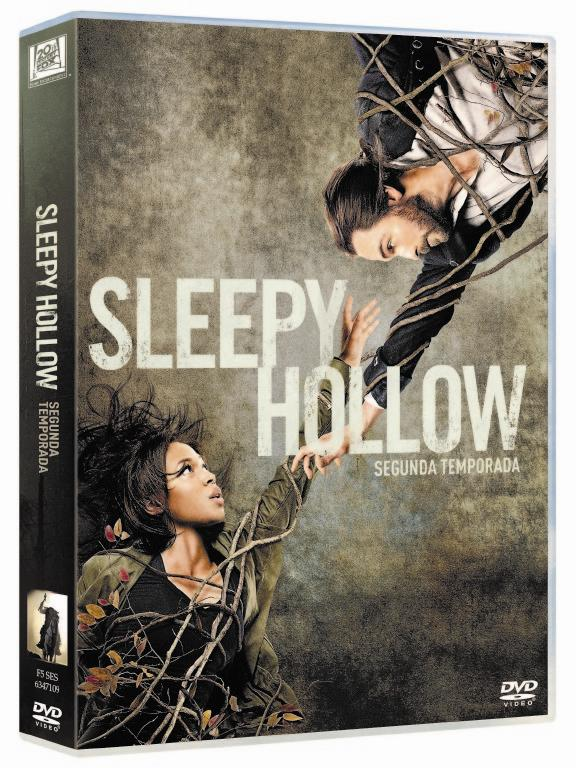 Carátula DVD de la segunda temporada de Sleepy Hollow
