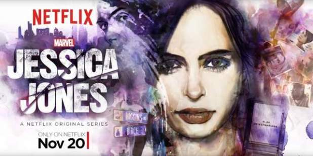 Cartel serie Jessica Jones
