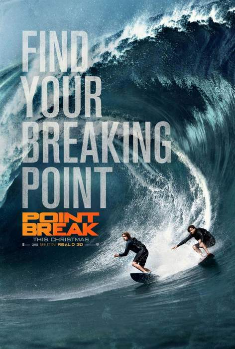 Póster de Point break: Sin límites
