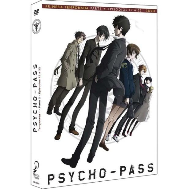Carátula Psycho-pass parte 2