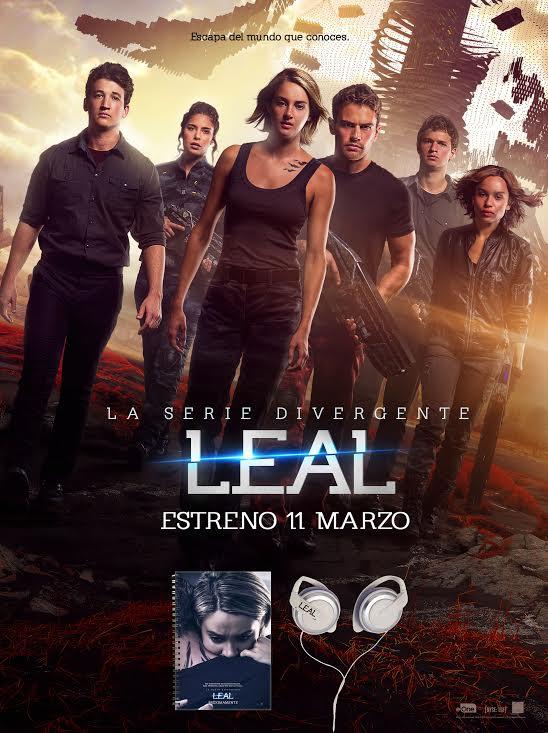 Concurso La serie Divergente: Leal