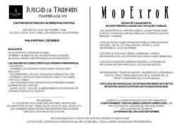 Comienza el casting de Juego de Tronos en Malpartida de Cáceres