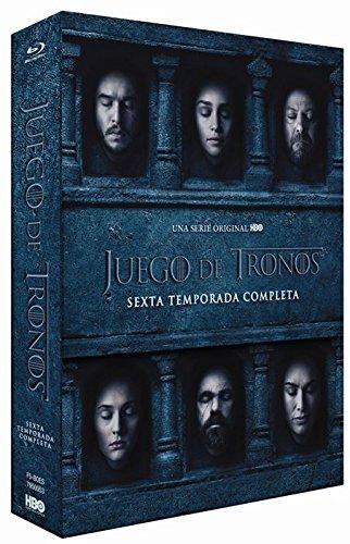 Carátula Sexta Temporada Completa de Juego de Tronos
