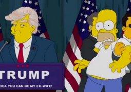 """""""Los Simpson"""" ya vaticinaron, hace 16 años, la victoria de Donald Trump"""