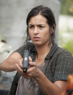 "Tara personaje de ""The walking dead"", insultos"